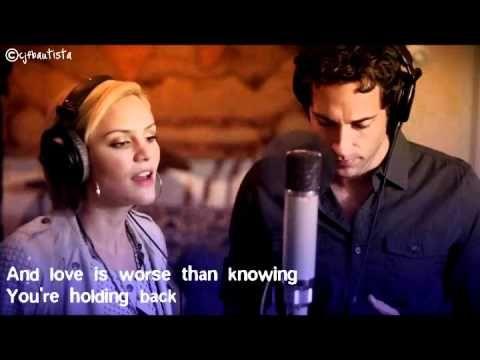 Katharine Mcphee Terrified Ft Zachary Levi Lyrics Lyrics Country Music Zachary Levi