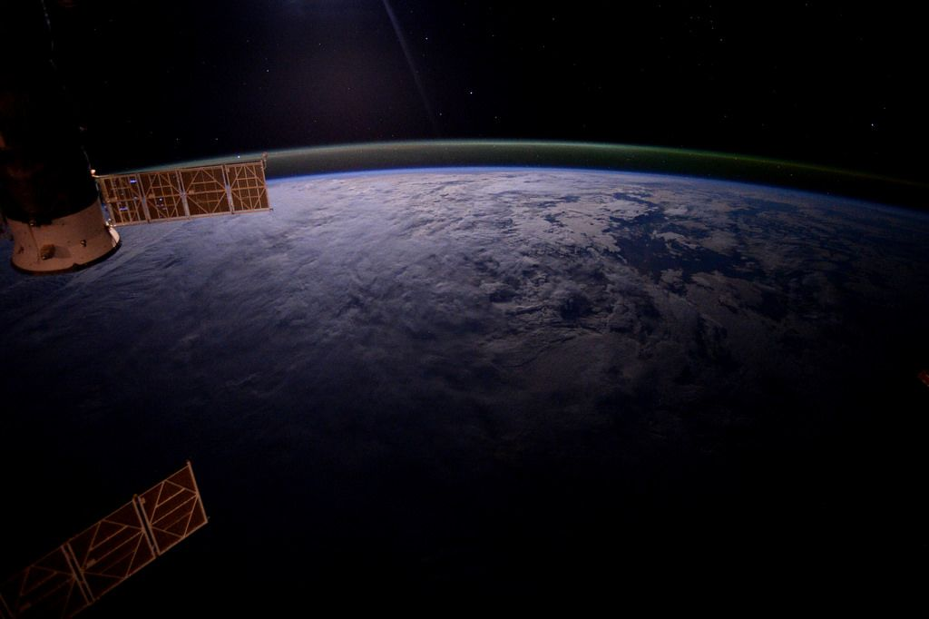 Today the ISS completed its 100,000th orbit of our beautiful planet Earth. An amazing feat of science, engineering and international cooperation - congratulations Space Station!  More info: www.esa.int/spaceinimages/Images/2016/05/Voyage_around_Earth  Credits: ESA/NASA  124F4247
