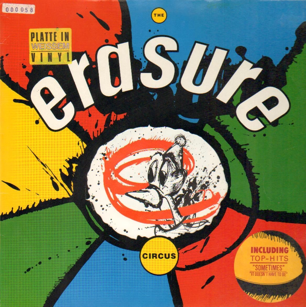 Erasure Album The Circus Quot It Doesn T Have To Be