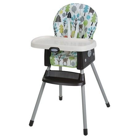 Admirable Graco Simpleswitch 2 In 1 High Chair Zuba Baby Girl Theyellowbook Wood Chair Design Ideas Theyellowbookinfo