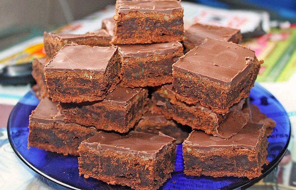 Die Besten Brownies Der Welt Rezept Beste Brownies Rezepte Einfacher Nachtisch