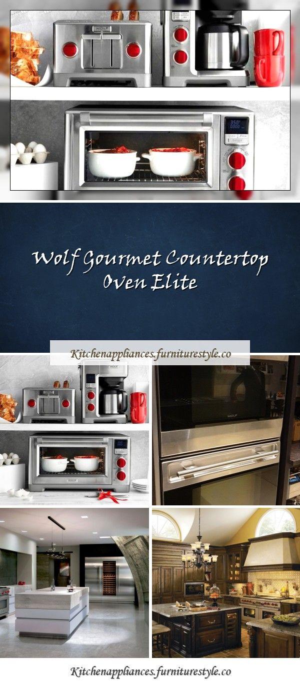 Wolf Gourmet Countertop Oven Elite In 2020 Wolf Gourmet