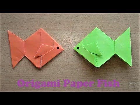 Origami fish instructions - Tavin's Origami | 360x480