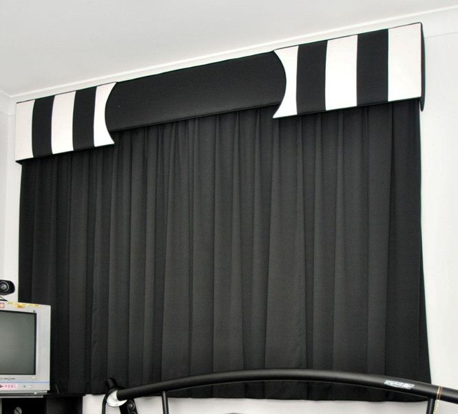 Pelmets, Curtains With Blinds, Curtains