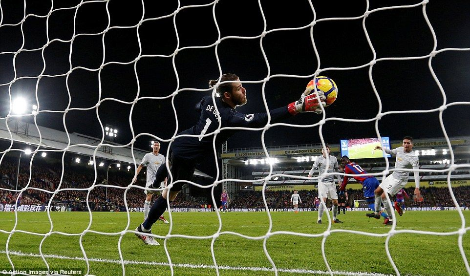 Image result for david de gea save vs benteke