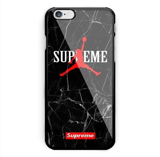 new arrival 3ad10 c7cfb Hot Air Jordan Logo Supreme Marble Fit Hard Case For iPhone 7 8 Plus X  Cover +  winter2018  spring2018  fall208  summer2018  autumn2018  vogue2018  ...