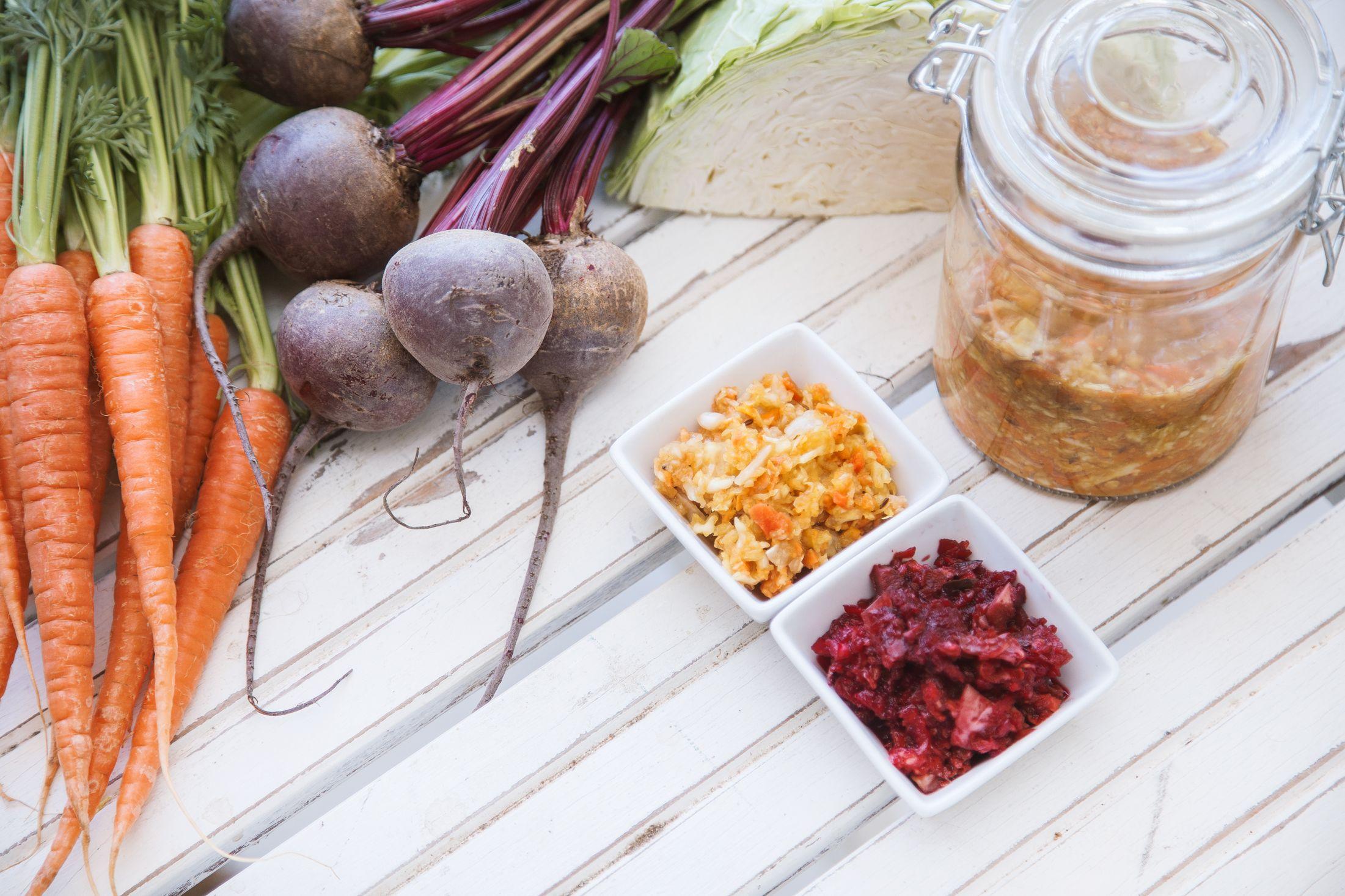Carrot, Apple and Ginger Sauerkraut Recipe Fermented