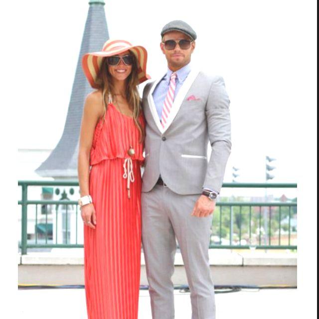 Kentucky derby maxi dresses