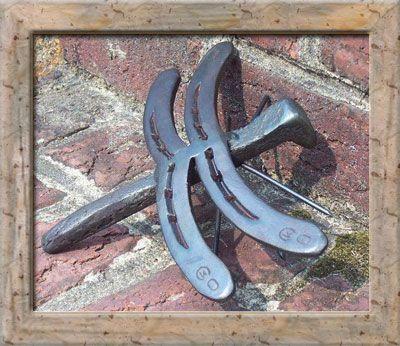 Marks custom horseshoe art for sale welding pinterest for Horseshoe crafts for sale