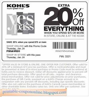 Free Printable Kohls Coupons Kohls Coupons Free Printable Coupons Printable Coupons