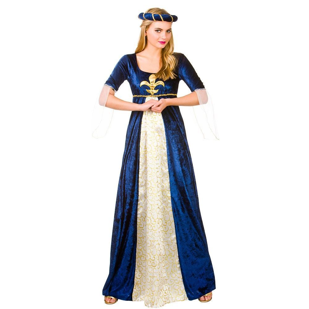 Maid Marion Renaissance Lady Princess Maiden Dress Up Halloween Adult Costume