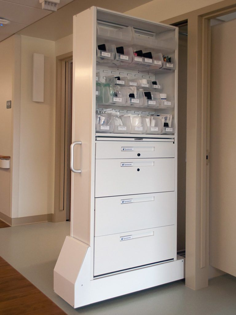 Nurse Server Patient Server Medical Storage Cabinets