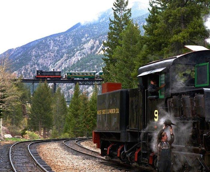 1 Georgetown Loop Railroad Silver Plume Rocky Mountain High