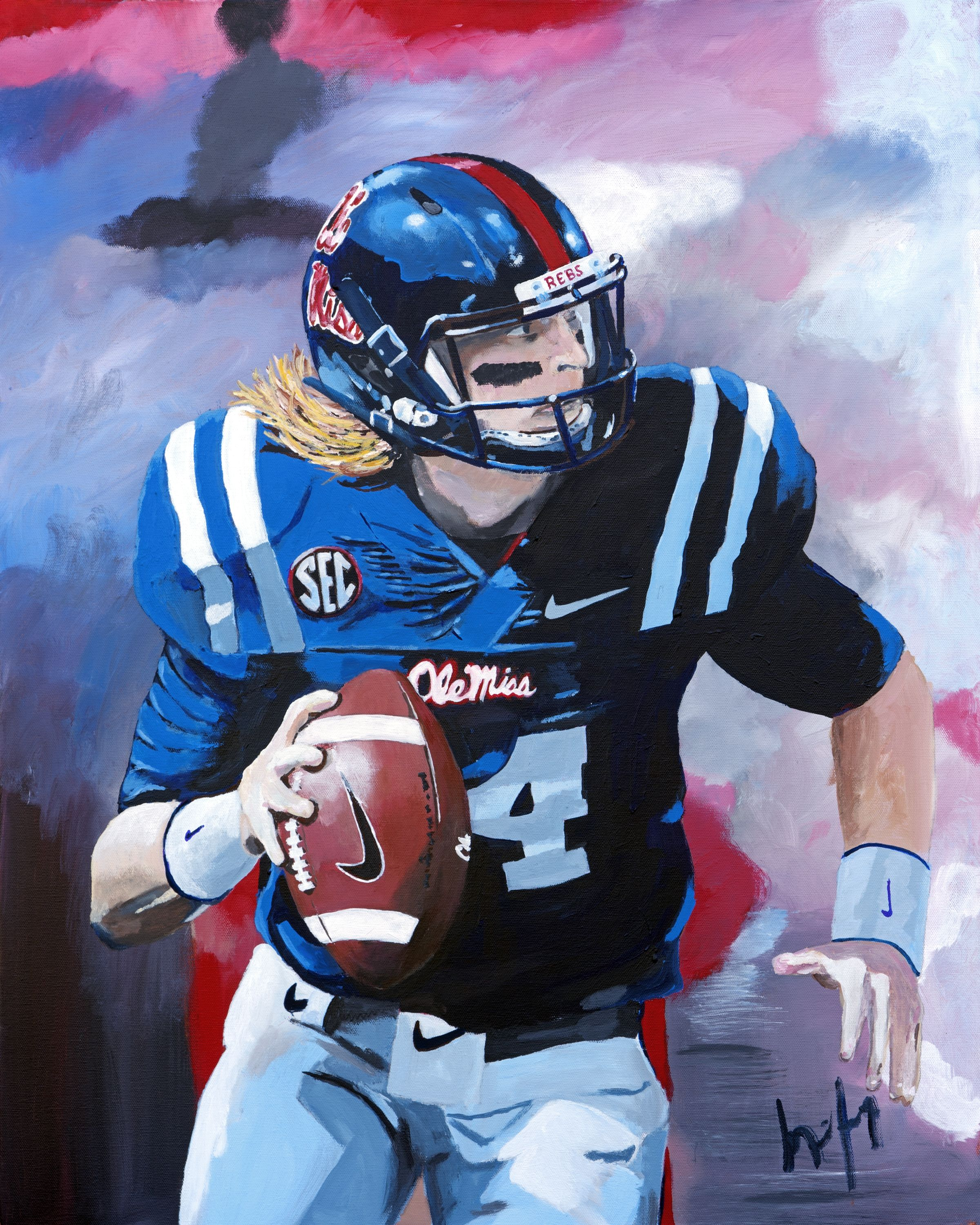 Bo Wallace Ole Miss Quarterback Hotty Toddy Ole Miss Ole Miss Rebels