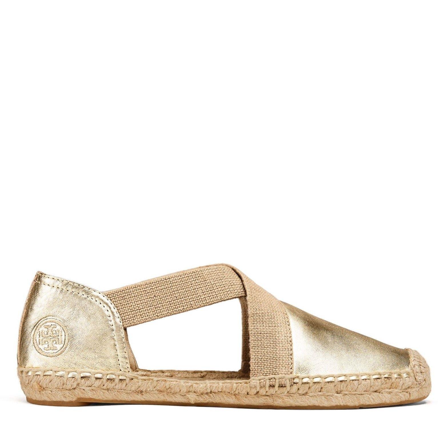 c0815620cc48 TORY BURCH Catalina Metallic Espadrille Sandal.  toryburch  shoes  all