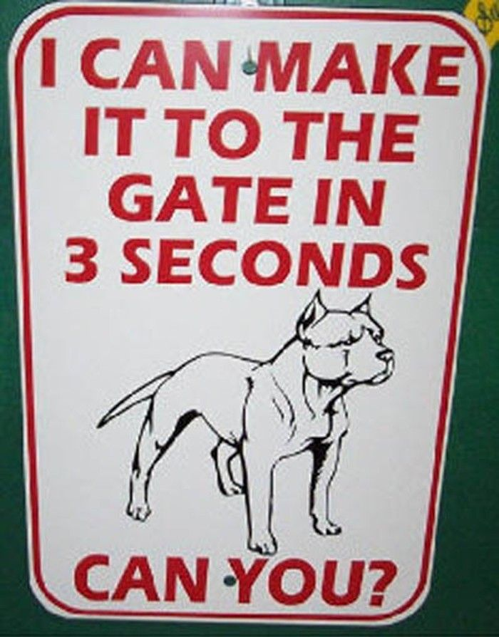 Scary Beware Of Dog Signs Beware Of Dog Sign Funny Dog Signs