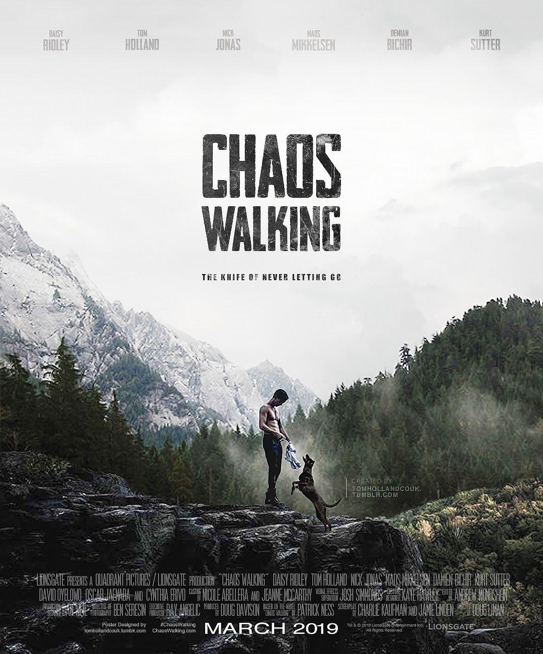 Jetzt Ansehen Chaos Walking 2021 Ganzer Film In 2021 Chaos Walking Chaos Tom Holland