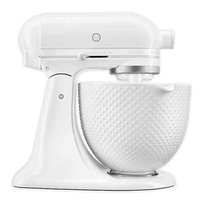 Kitchenaid Artisan Stand Mixer With 5qt Ceramic Hobnail Bowl Bed Bath Beyond Kitchenaid Artisan Stand Mixer Kitchen Aid Kitchenaid Artisan