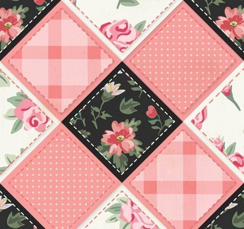52 Free and Easy Patchwork Quilt Patterns with Images | Patchwork ... : flower patchwork quilt - Adamdwight.com