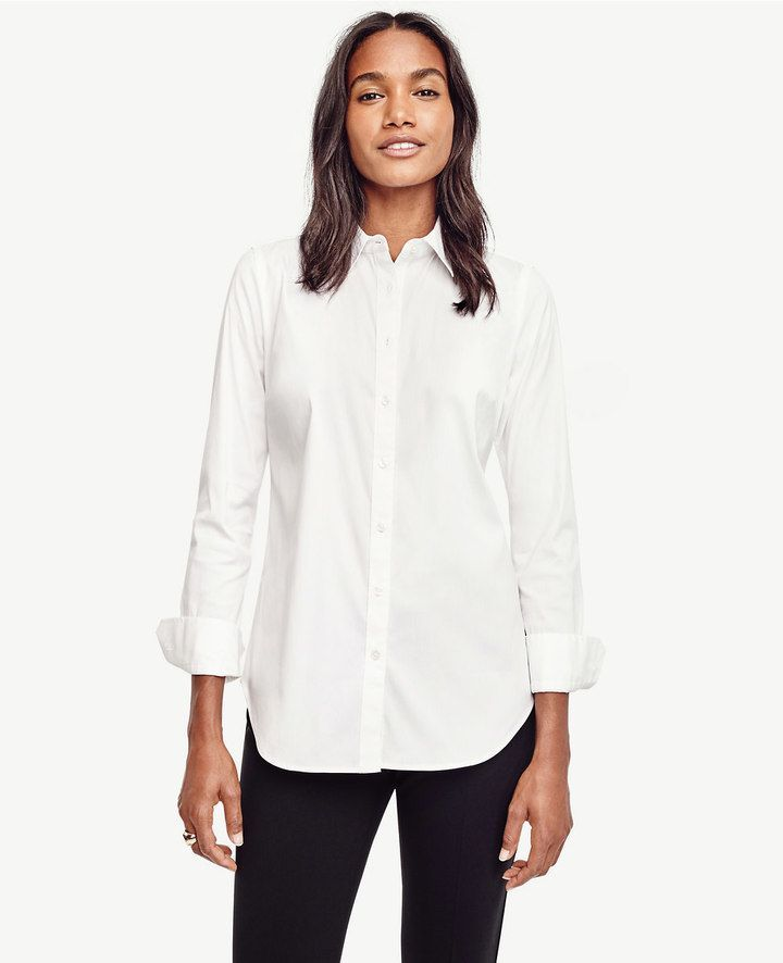 f4e1aa2426a ... White Button-Downs. Tall Perfect Shirt Finally, clothing that fits me!
