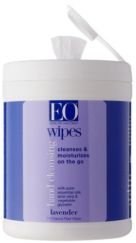 Eo Hand Cleansing Natural Fiber Wipes Lavender 210 Wipes To