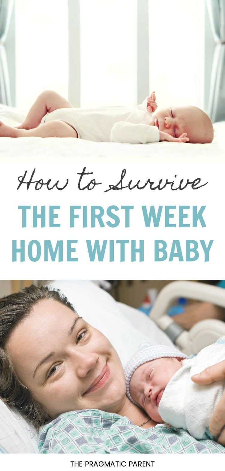 Helpful tips to help you survive the first week home with baby. What ...