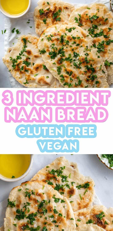 Gluten free naan bread recipe vegan dairy free low