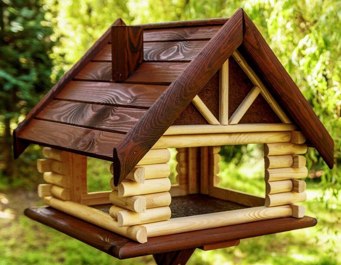 Exclusive Large Wooden Bird Table House Bird Feeder Feeding House Ebay Bird Ebay In 2020 Vogelhaus Bemalen Vogelhaus Selber Bauen Vogelfutterhaus Selber Bauen