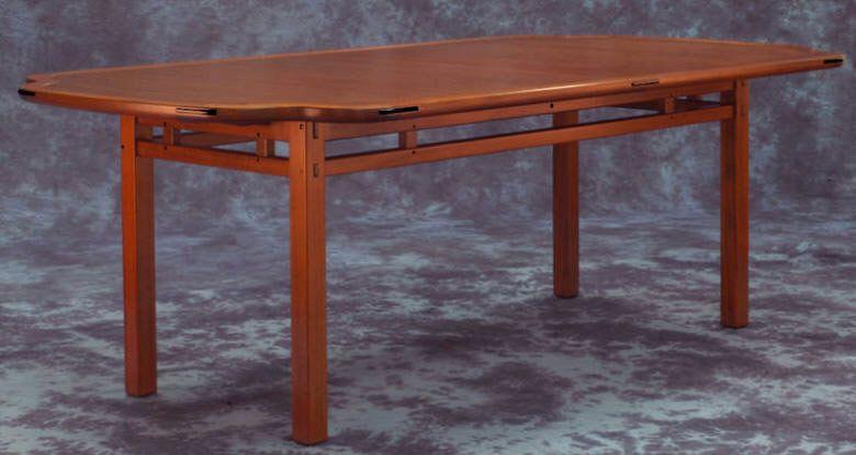 Greene Style Tsuba Dining Table