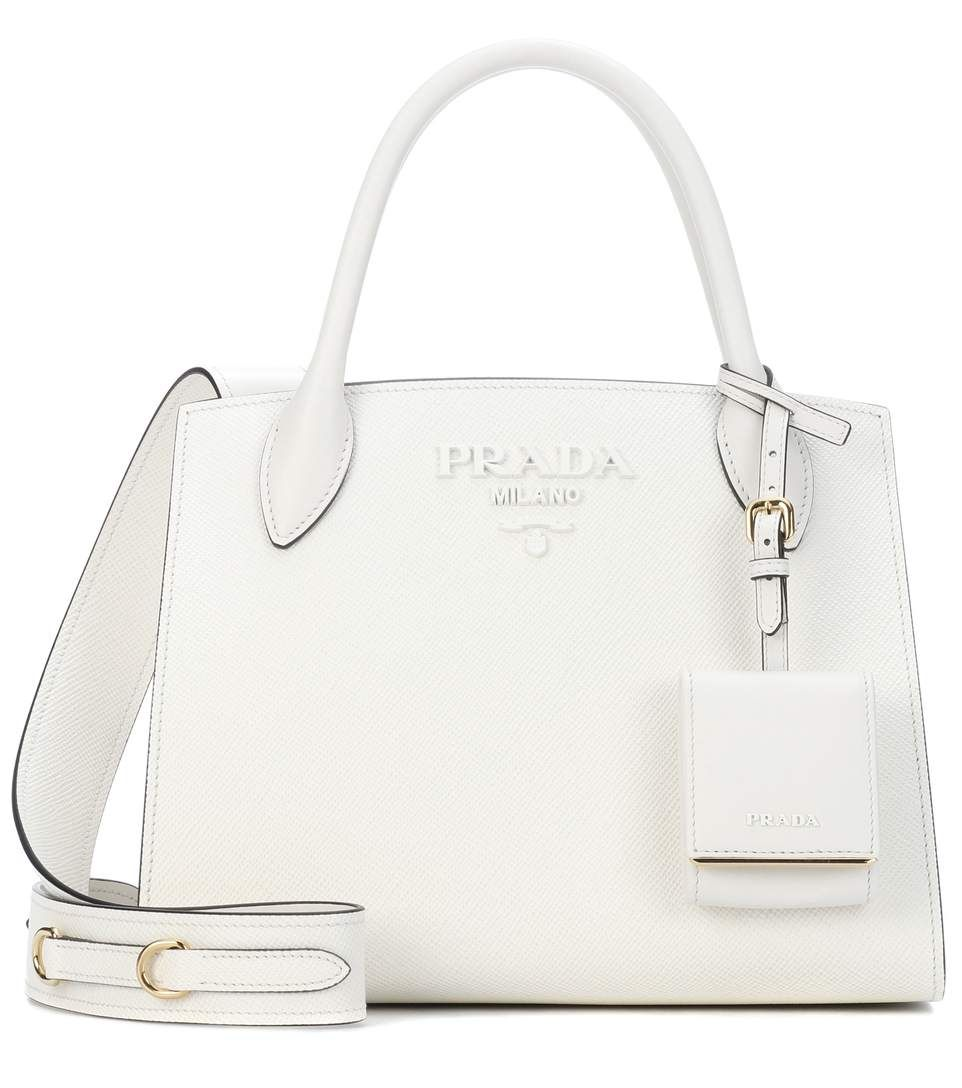 732256cb10a2 PRADA Saffiano leather tote. #prada #bags #shoulder bags #hand bags #leather  #tote #lining #