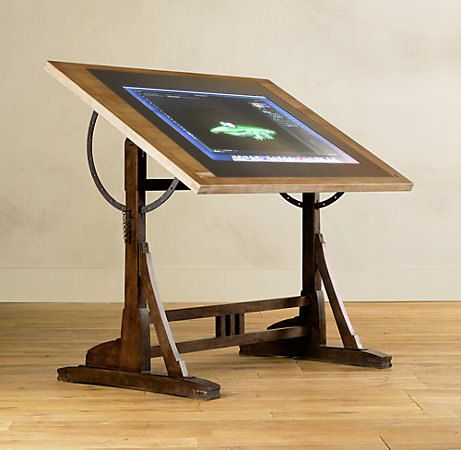The Way Back Drawing Machine Digital Drafting Table By Woodguy32