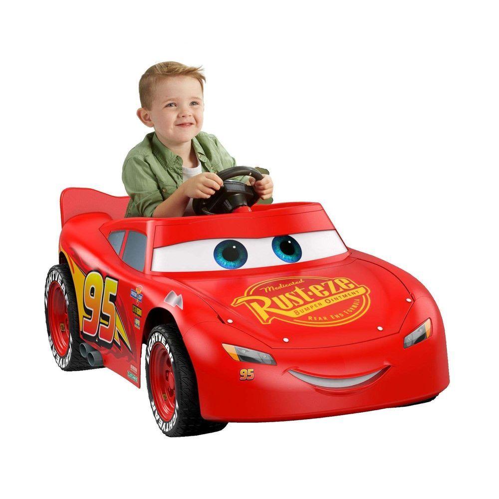 Car 3 toys  Power Wheels Kids Ride On Car Toy Vehicle Disney Pixar Cars