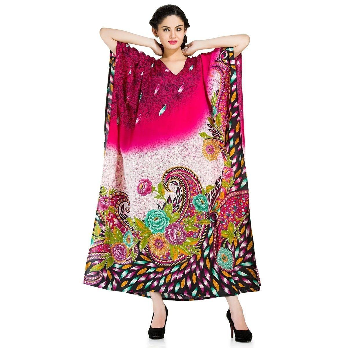 e9f8941a72 Goood Times Caftan Dress Long Maxi Plus Size Boho Kaftan Cover up ...