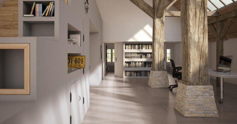 Marca Corona #Matrix White 30x60 cm 9851 #Feinsteinzeug #Sandoptik - badezimmer 10 qm