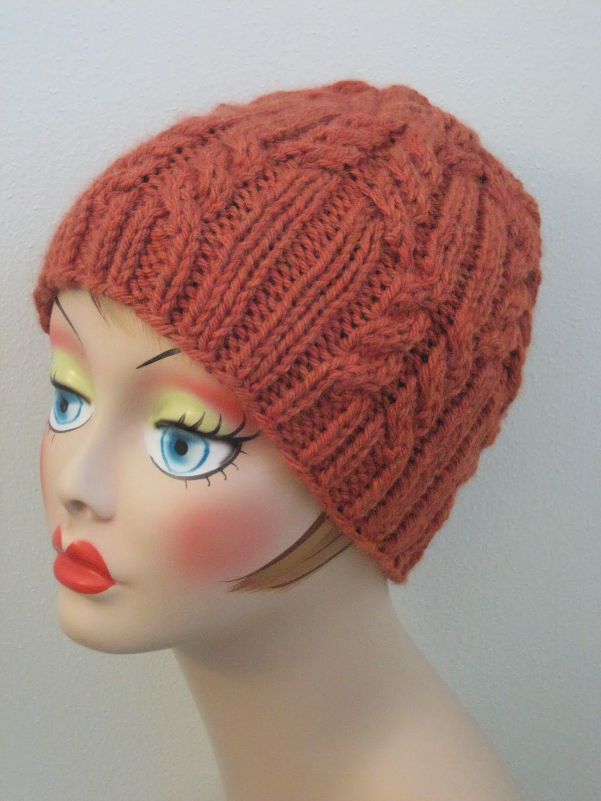 Rib & Cable Hat | Knit patterns, Cable and Patterns