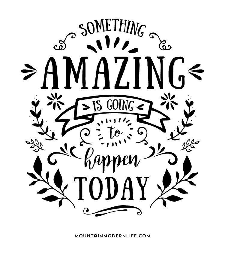 Something Amazing: Something Amazing Is Going To Happen Today