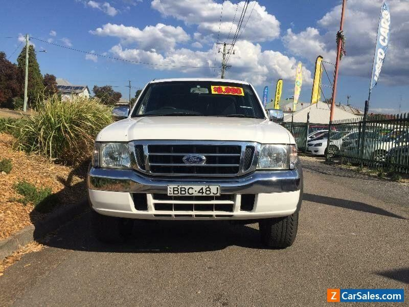 2005 Ford Courier PH XL White Manual 5sp M Utility ford