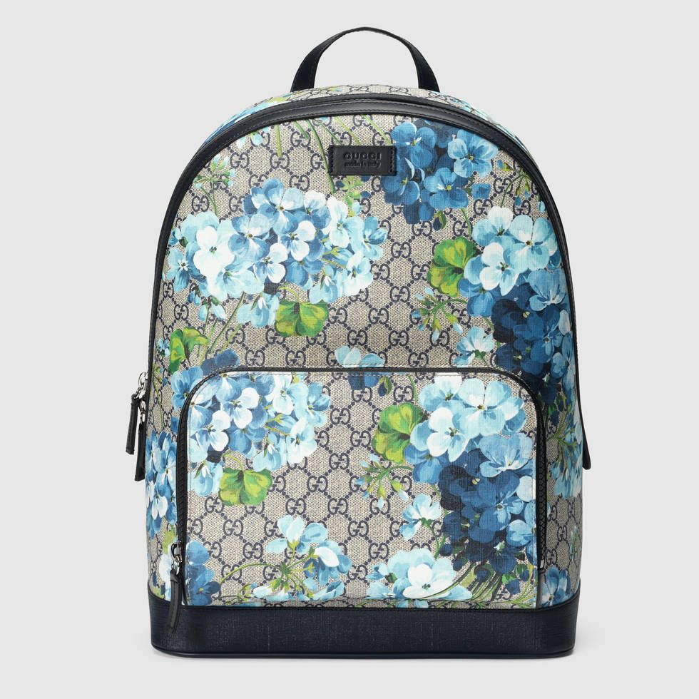 b6a20dcb6862 Gucci Men - GG Blooms backpack - 406370KU2KX8496 | What to wear ...