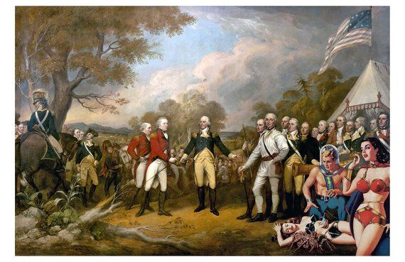 what battle did the americans win their independence from britain in 1781? by EtsyUK
