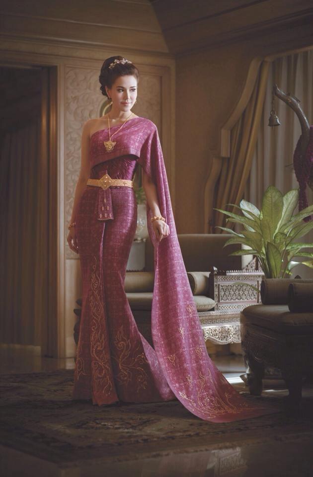 ช ดไทยแต งงาน ม ลาน ดแต Thai Wedding Dress 2bbride