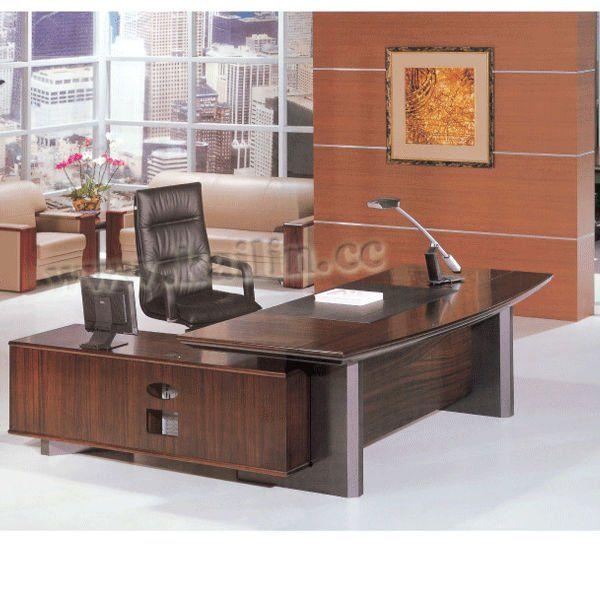 Mordern Design Executive Table Office Desk Solid Wood KL
