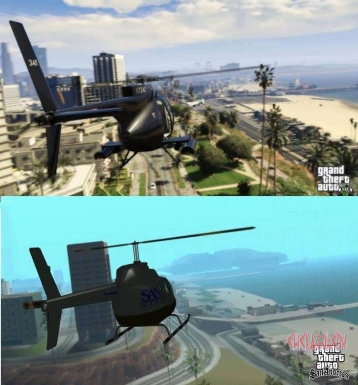 Funny Picture Gta San Andreas And Gta 5 Comparison San Andreas Grand Theft Auto Series Weird Pictures
