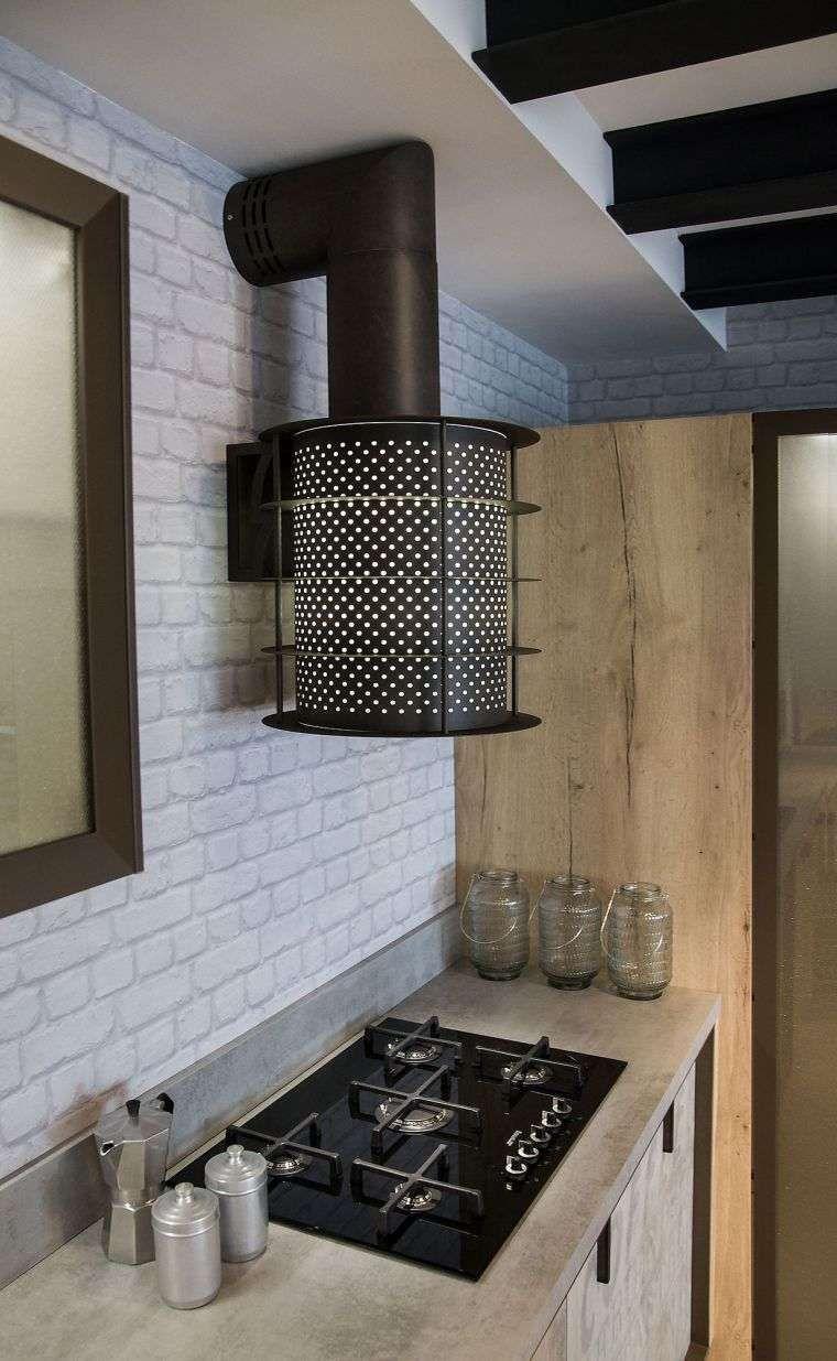 idée de déco de loft avec cuisine industrielle (avec images