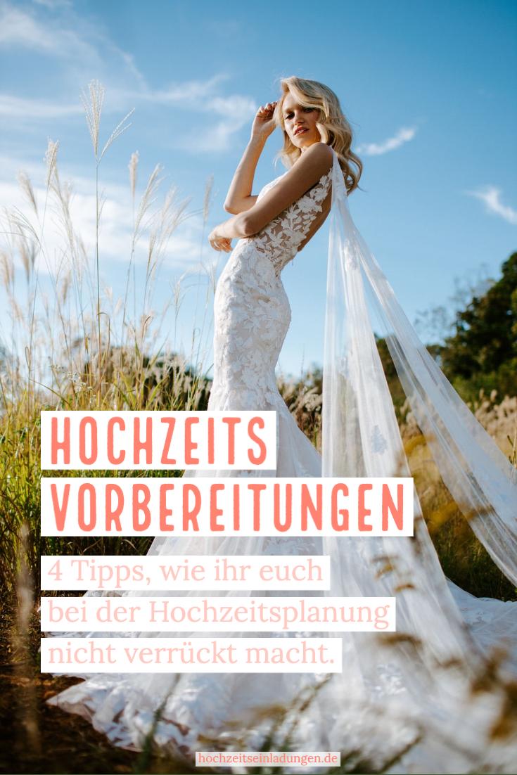 Hochzeitsvorbereitungen 4 Tipps Nicht Zu Verzweifeln Hochzeit Vorbereitung Hochzeit Hochzeitsplanung