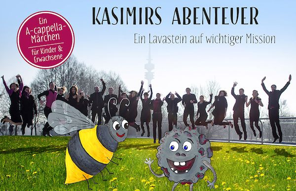 #KasimirsAbenteuer – ein #AcappellaMärchen #Münchner #doncamillochor für #Familien #Kinder http://bit.ly/2bMUA6C