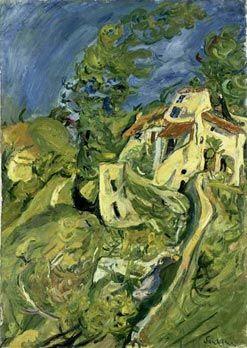 Soutine - Paysage, 1922