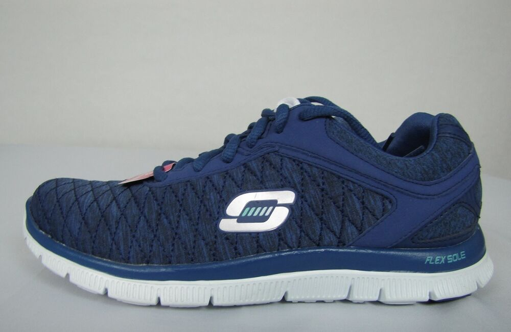 New Skechers Women S Running Shoes Flex Appeal Size 6 5 Skechers