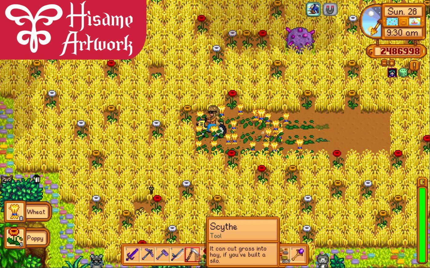 how to get hay in stardew valley