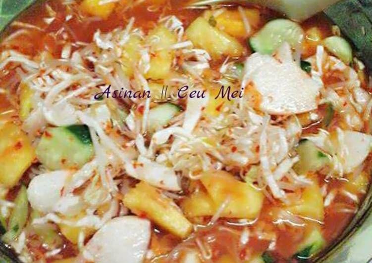 Resep Asinan Buah Sayur Selasabisa Oleh Meita Jhonson Ceu Mei Resep Makanan Resep Resep Makanan