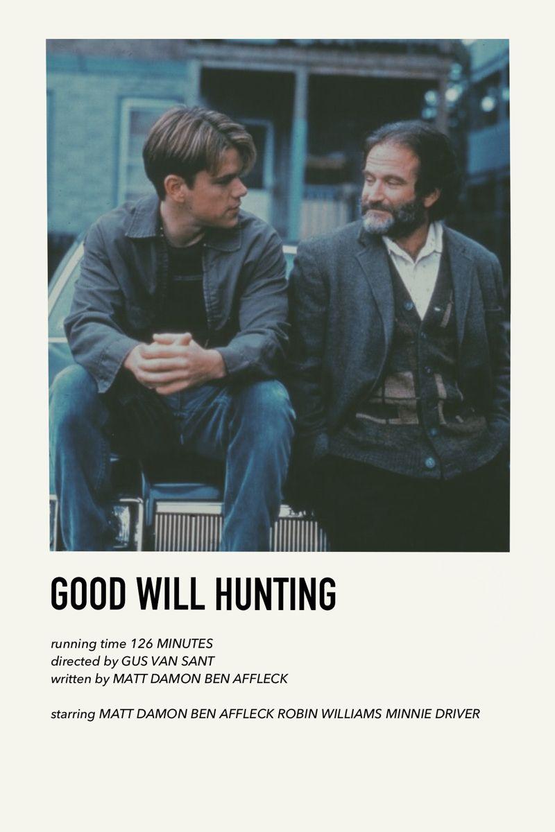 Movie Poster Good Will Hunting Minimalist Design Landscape